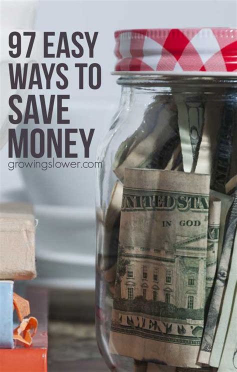 two strategies for saving money on a residence ultimate list of 97 easy ways to save money printable