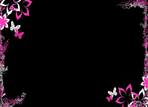 cool flower backgrounds purple flowers cool purple flower border