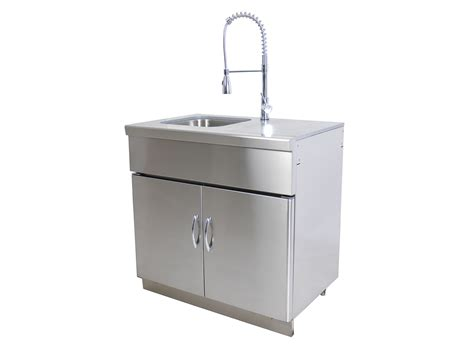 outdoor kitchen sink cabinet outdoor kitchen module sink unit grandfire bbq