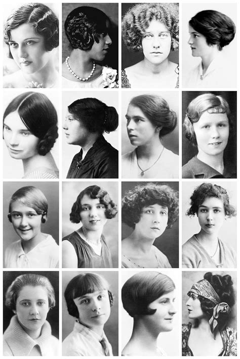 hairstyles  collection    vintage