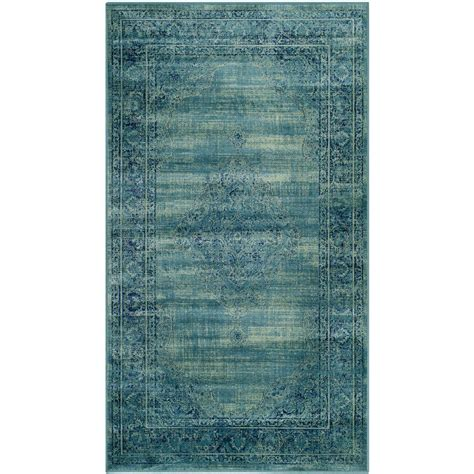 safavieh vintage turquoise multi 5 safavieh vintage turquoise multi 4 ft x 5 ft 7 in area rug vtg112 2220 4 the home depot