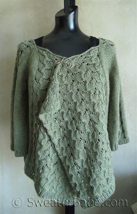 drape front cardigan pattern drape front lace cardigan knitting patterns blog from