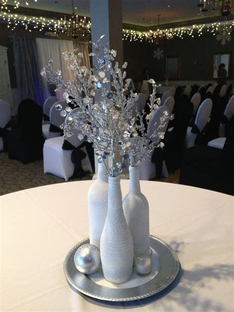 silver centerpieces for table best 25 spray painted bottles ideas on pinterest paint