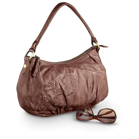 leather hobo purse scully 174 leather hobo purse 223991 purses handbags at sportsman s guide