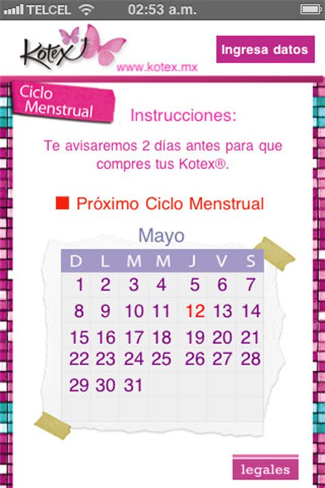 Calendario Mestrual Calendario Menstrual Descargar Search Results Calendar