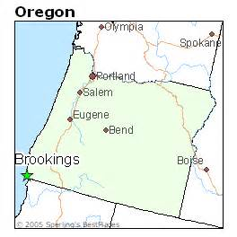 brookings oregon map best places to live in brookings oregon