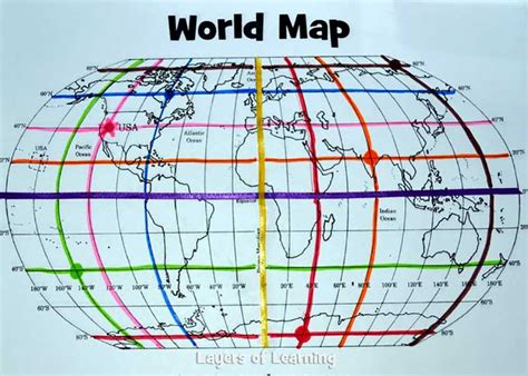 define grid pattern geography this lesson plan includes a printable world map with a map