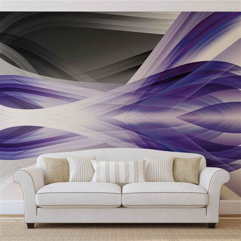 purple wall murals abstract light pattern purple wall paper mural buy at europosters