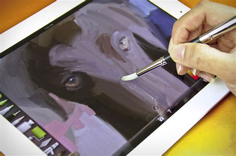 painting for tablet sensu brush stylus provides a true painting experience on
