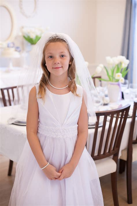 Table Settings Ideas Party Reveal Lavender First Communion Party Project Nursery