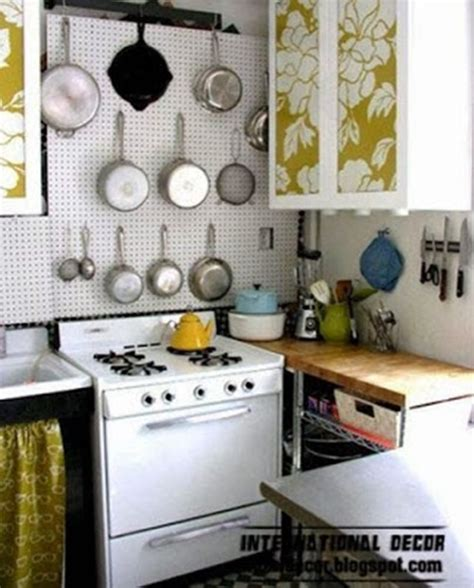 Small Kitchen Design Solutions by Space Saving Solutions For Small Kitchens Interior Design