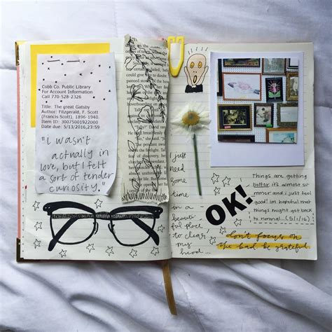 journal design pinterest fyeah journalss florallpeach finally sat down and