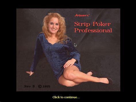 strip poker professional dos  game retrogamescz