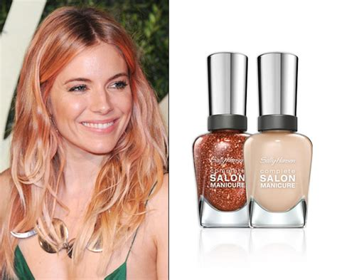 which hair color from sallys rose gold rainbow colored hair trends to try on your nails