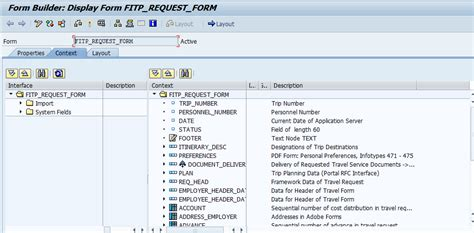 tutorial sap erp pdf customizing pdf and adding fields to ptrv expense form