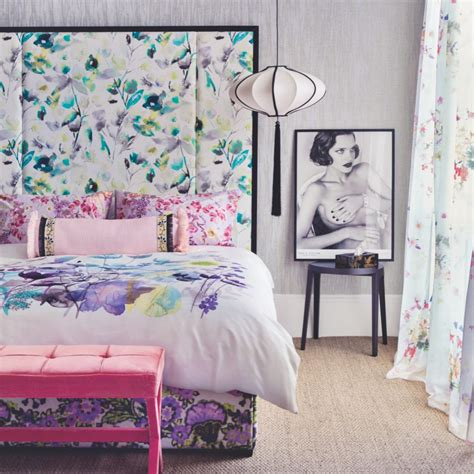 what goes good with purple bedroom colour schemes ideal home
