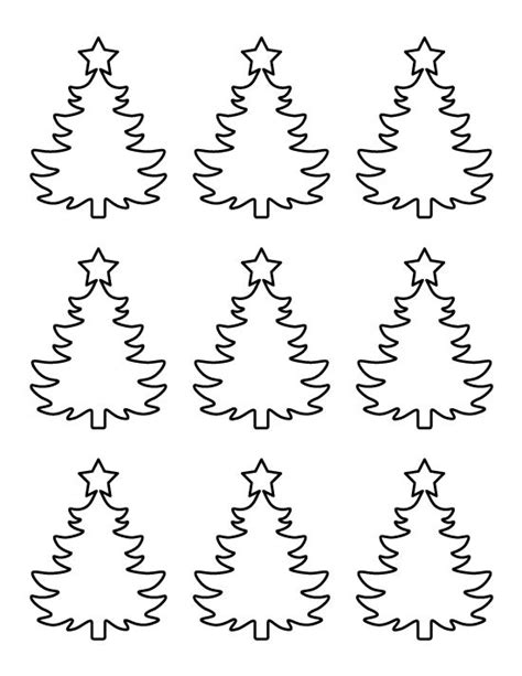 printable small christmas tree pattern use the pattern
