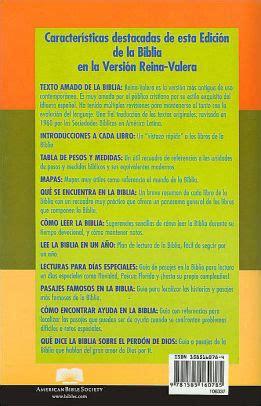 santa biblia reina valera 1960 american bible society 9781932507362 amazon com books la santa biblia version reina valera 1960 by staff of the american bible society paperback