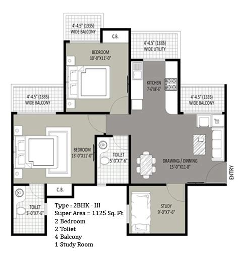 study room floor plan sethi max royal resale in noida sector 76