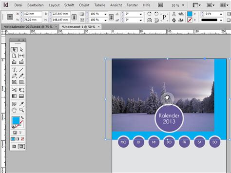 indesign foto verkleinern tutorial fotokalender inkl deckblatt in adobe indesign