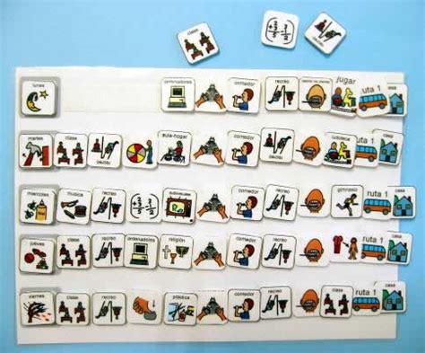 Calendario Didactico Para Niños Autismo Em Goi 194 Nia Agendas Pessoais Para Crian 231 As Autismo