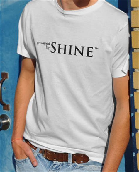 Place Tshirt Shine Like The powered by shine t shirt moonshine t shirts there s nothing like a white lightning on