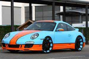 Porsche Styles Oxigin S Gulf Racing Style Porsche 911