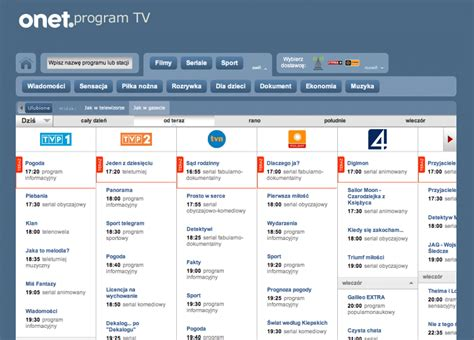 program tv onet pl wprowadza nowy program tv onet pl program tv
