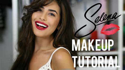 hair and makeup tutorials youtube selena inspired makeup and hair tutorial easy youtube