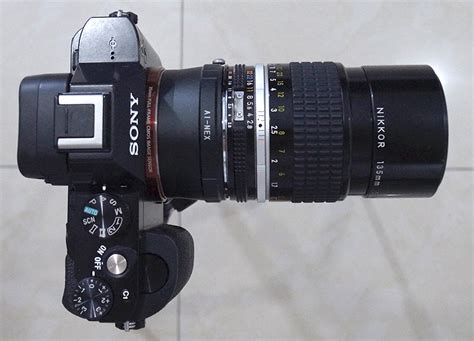Lensa Sony A7s Nikkor 135mm F 2 8 Ais Review