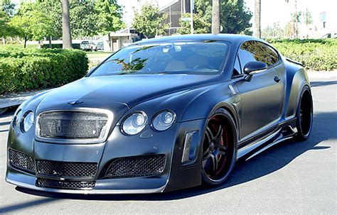 widebody bentley premier 4509 widebody bentley gt coupe by concept