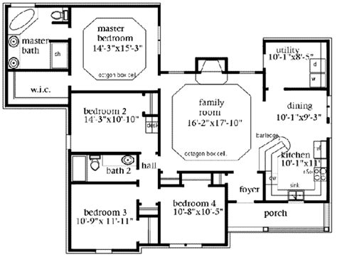 large images for house plan 163 1027 european style house plan 4 beds 2 baths 1724 sq ft plan