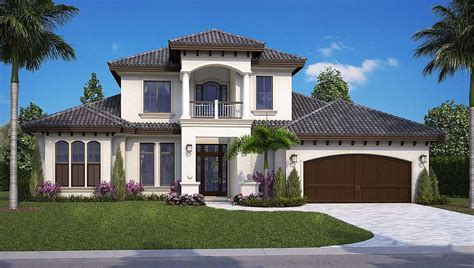Florida House Plan with Game Room and Loft   66381WE