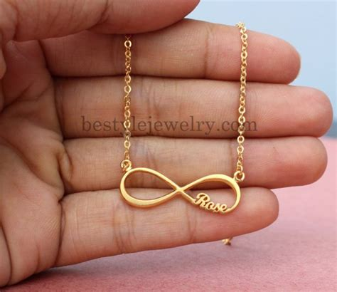 unique personalized bridesmaid jewelry gifts jewels gift ideas unique gifts infinity necklace name