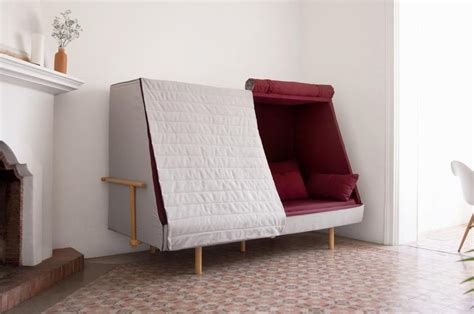 couch tent unique sofa with quilted flaps like a tent orwell sofa