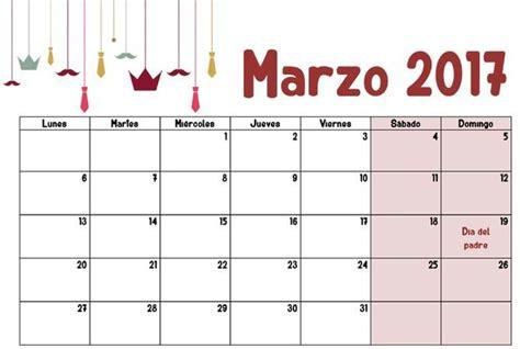 calendario marzo 2017 marzo 2017 calendario escolar 2016 2017 para imprimir