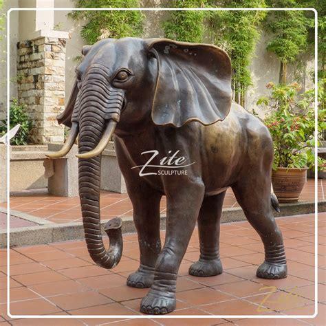 Elephant Bigsize Brown sale outdoor size bronze large elephant statues buy large elephant statues large