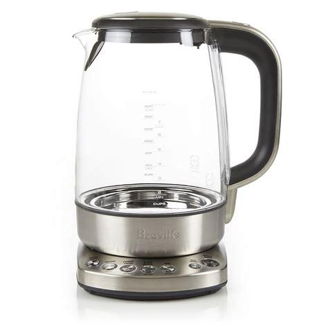 breville comfort kettle breville bke830xl teavana glass variable temperature