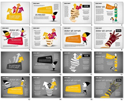 creative powerpoint templates 40 best creative and looking powerpoint slides images