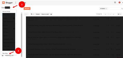 membuat blog yang menguntungkan membuat blog baru dengan email yang sama de eka