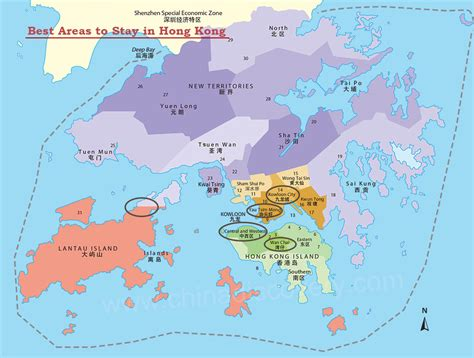 stay  hong kong  areas  places  stay