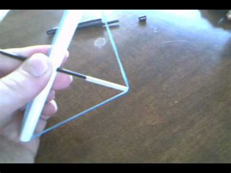 How To Make A Bow And Arrow Out Of Paper - how to make a pen bow and arrow