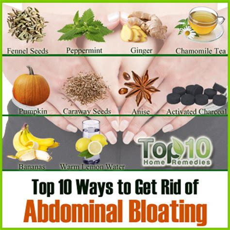 how to get rid of bloating top 10 home remedies
