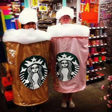 Foam Coffee And Laundry Koin logos costumes and starbucks cup on