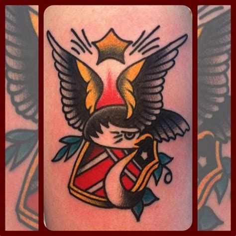 tattoo eagle old school old school eagle tattoo by forever true tattoo