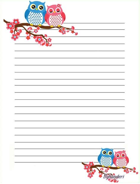 printable stationery owls 264 best owl stationery images on pinterest
