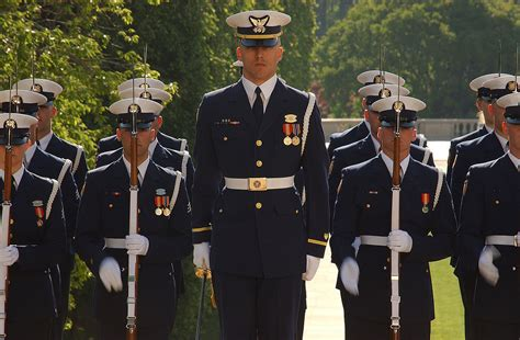 To Guard Us united states coast guard ceremonial honor guard