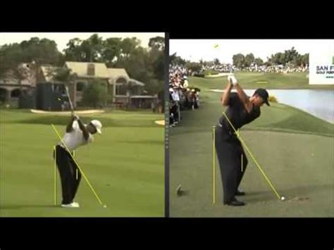 tiger woods golf swing 2000 tiger woods golf swing by craig hanson youtube