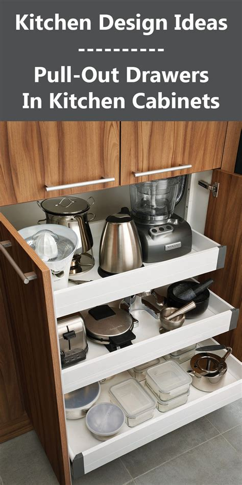 Kitchen Pull Out Cabinets by Kitchen Design Ideas Pull Out Drawers In Kitchen