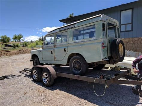 1967 series 2a land rover 6 cylinder 109 for sale